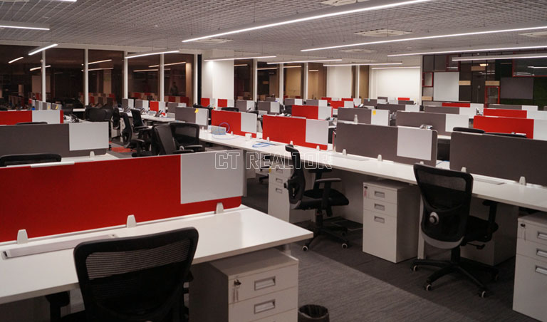 150 Seats Office Space for Rent in Sector-V Salt Lake ID49